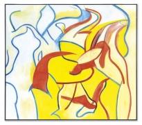 Willem de Kooning Untitled VII,1986, oil on canvas