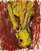 Georg Baselitz Orangenesser, 1982