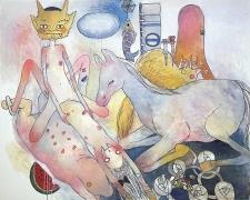 Aya Takano, Everything Is Around Us, 2009