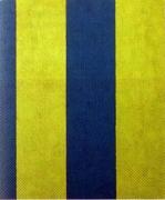 Sherrie Levine  Untitled (Broad Stripe #6)  1985