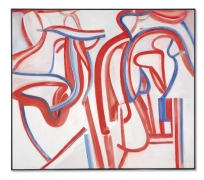 Willem De Kooning  Untitled XXIX, 1986