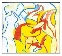 Willem de Kooning, Untitled VII, 1986