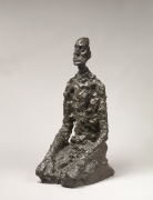 Alberto Giacometti Buste d'homme assis (Lotar III) conceived in 1956-66; this example cast in 1973 bronze