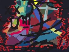 KAWS THE STRANGER, 2018 Painting