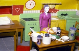 Purple/Woman/Kitchen/Second View, 1978