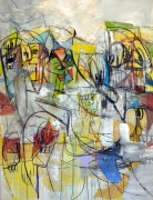 George Condo Internal Voices
