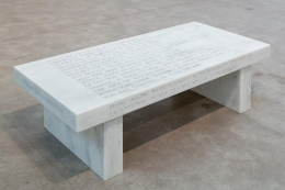 Jenny Holzer Selection from Truisms: A Strong Sense of Duty..., 1987