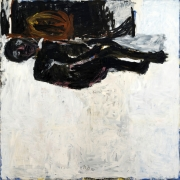 Georg Baselitz, Mann Im Bett, 1982