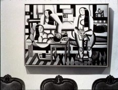 Louise Lawler  Three Women, Three Chairs arranged by Mr. and Mrs. Burton Tremaine, NYC 1984, 1984