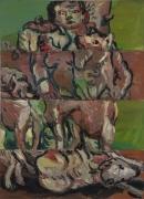 Georg Baselitz  Der Jäger (The Hunter), 1966