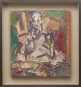 Frank Auerbach  David Landau Seated  2011-2012 oil on canvas
