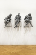 Juan Muñoz Three Laughing at One, 2000