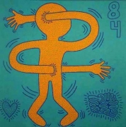 Keith Haring, Untitled (May 28, 1984), 1984