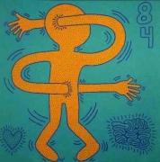 Keith Haring  Untitled (May 28, 1984), 1984