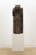 Mark Grotjahn, Untitled (African, Gated Front and Back Mask)