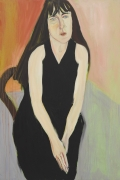 Chantal Joffe, Ishbel in Black, 2018