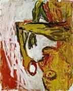 Georg Baselitz Orange Eater, 1982