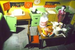 Laurie Simmons Purple Woman/Kitchen/Corner, 1978