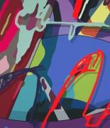 KAWS STILL A STUDENT, 2018 Painting