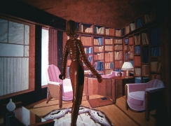 Laurie Simmons, Red Library II, 1983