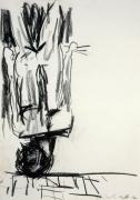 Georg Baselitz Untitled (The Last Self-Portrait I), 1982