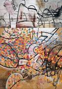 Carroll Dunham, Time Release, 1984-85