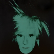 Andy Warhol, Self-Portrait (Fright Wig), 1986