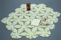 Mike Kelley, Arena #11 (Book Bunny), 1990