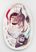 Mike Kelley The Thirteen Seasons (Heavy On The Winter) #5: Summer's Rage, 1994 acrylic on wood panel