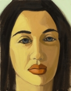 David Salle, Untitled (portrait 21)