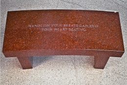 Jenny Holzer, Survival Series: Hands on your breast..., 1989