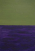 Günther Förg Untitled (green, purple), 1986