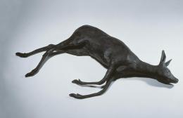 Rosemarie Trockel, Gewohnheitstier 2 (Reh) (Creature of Habit 2 Deer), 1990