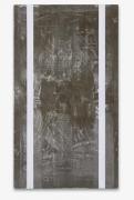 Günther FörgUntitled, 1990acrylic and lead on wood110 1/4 x 63 inches (280 x 160 cm.)