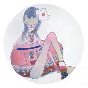 Aya Takano, Masked Woman (She Likes Parfait), 2009