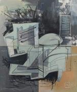 Martin Kippenberger UNO Gebäude - Haus per la Pax (U.N. Building - The Home of Peace), 1984