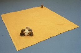 Mike Kelley, Arena #5 (E.T's), 1990