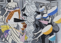 David Salle, Grey Honeymoon