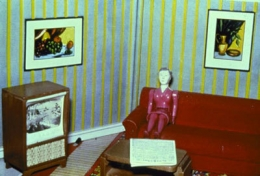 Laurie Simmons  Woman Watching TV, 1979