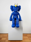 KAWS SEEING, 2018 bronze, paint