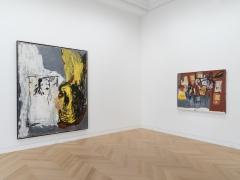 © Georg Baselitz. © Estate of Jean-Michel Basquiat. Licensed by Artestar, New York. Courtesy of Skarstedt, New York.