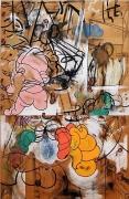 Carroll Dunham, Fifth Pine, 1984-85