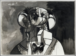 George Condo  Ahmed the Tailor, 2013