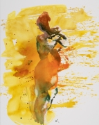 Eric Fischl, Standing Yellow Nude