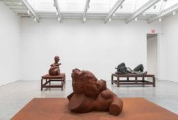 Installation View Schutte Sculptures Chelsea
