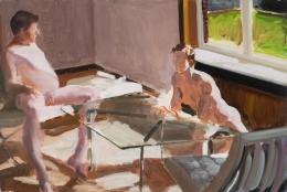 Eric Fischl, Krefeld Project, Study
