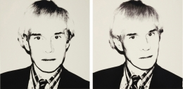 Andy Warhol, Self Portrait (Pair)