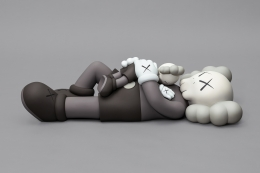 KAWS HOLIDAY (4) 2020 aluminum, paint