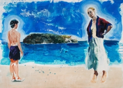 Eric Fischl, Preparing to Swim the Channel