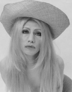 Yasumasa Morimura Self-Portrait (b/w) / after Brigitte Bardot